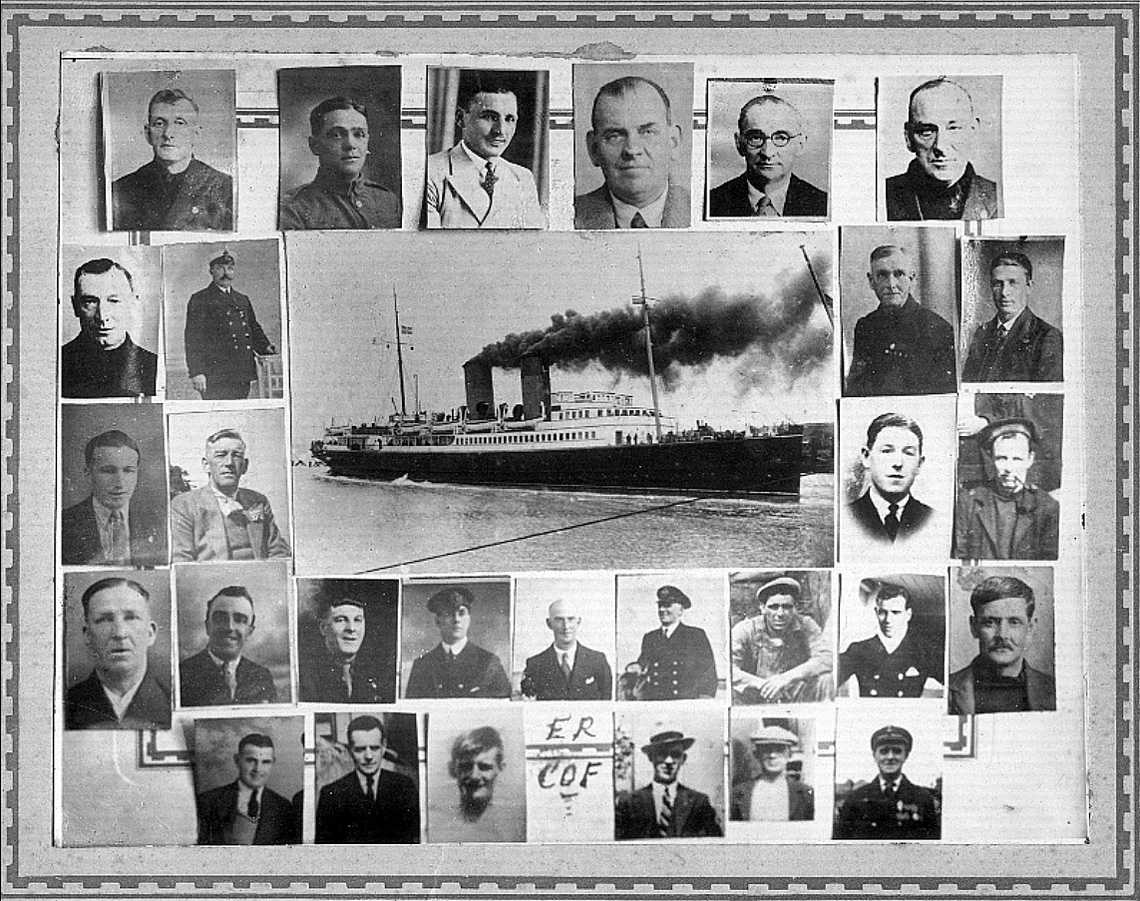 H.M.S. Scotia - Photos of the men who died at Dunkirk