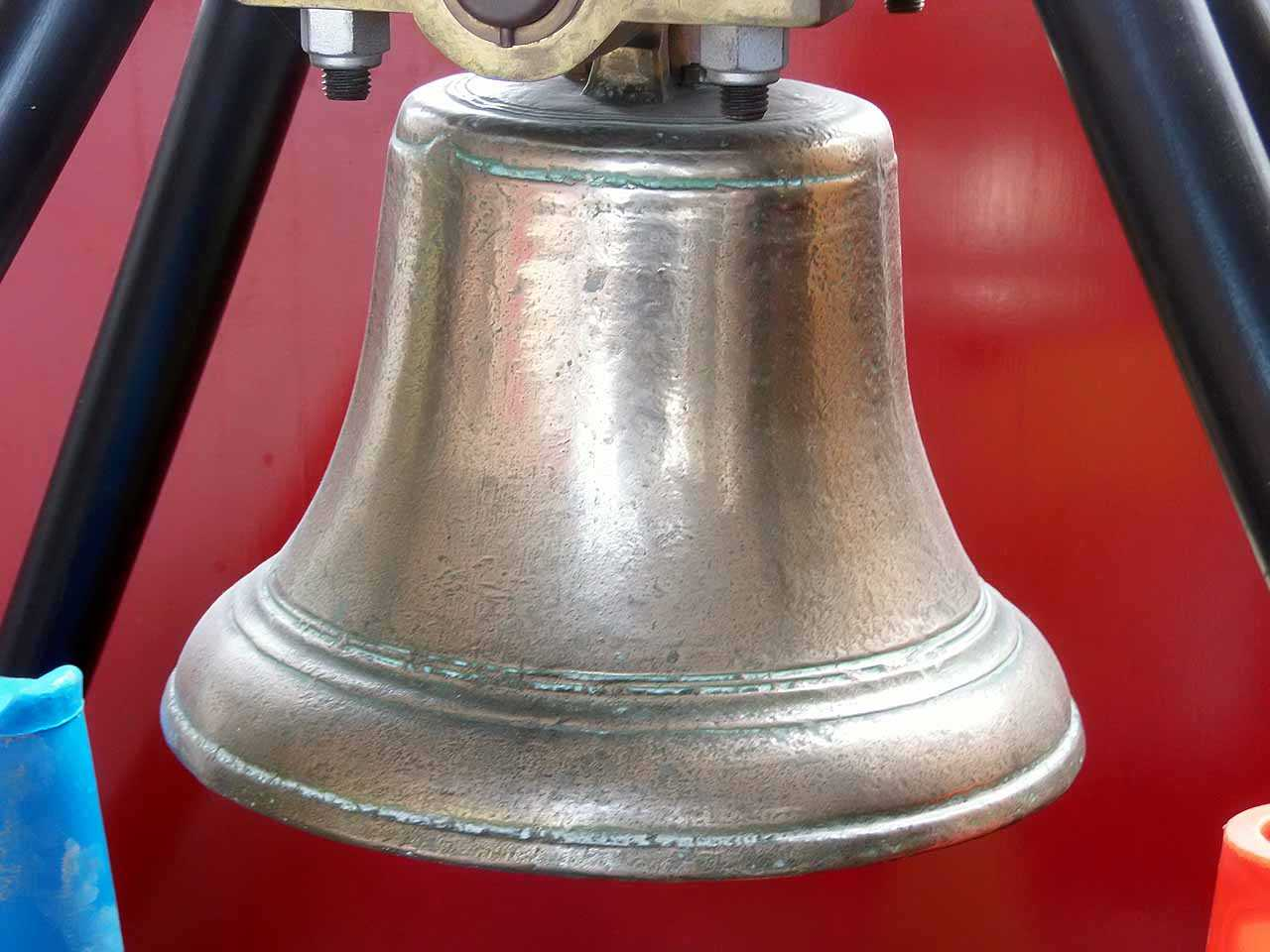 Holyhead, National School Bell dated 1818