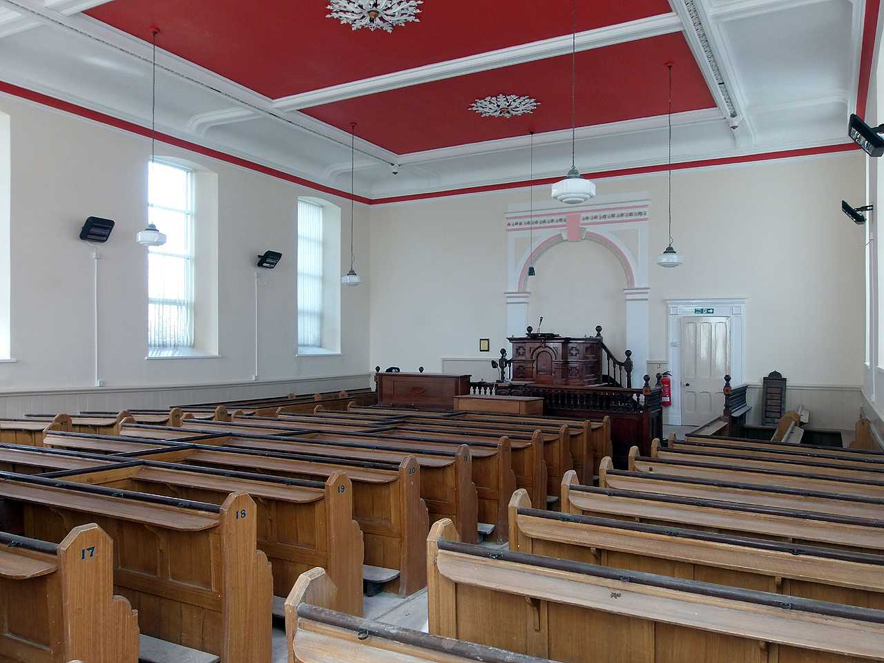 Anglesey, Valley, Tabor Chapel Interior