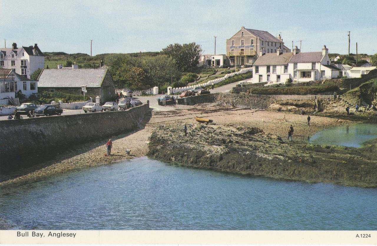 Bull Bay front in the 1960's