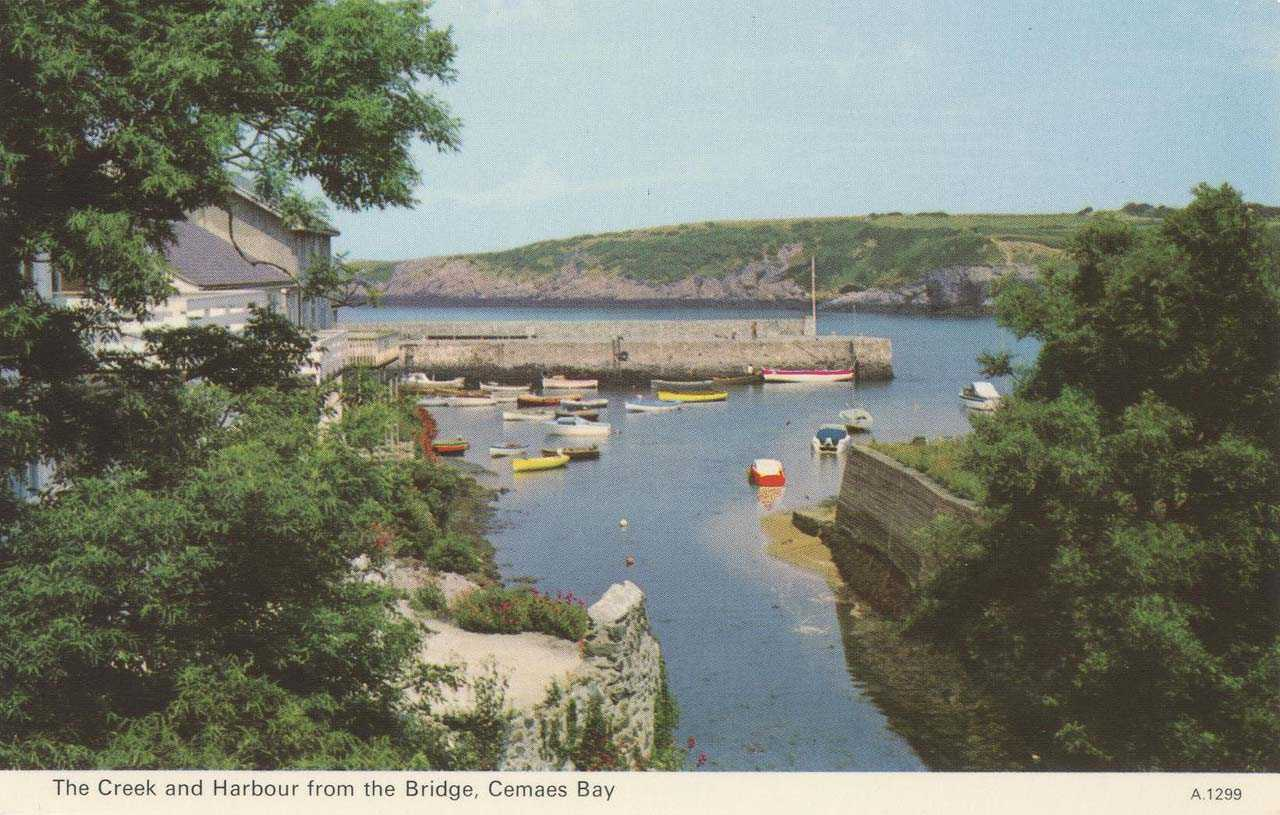 Cemaes Bay - The CReek and Harbour