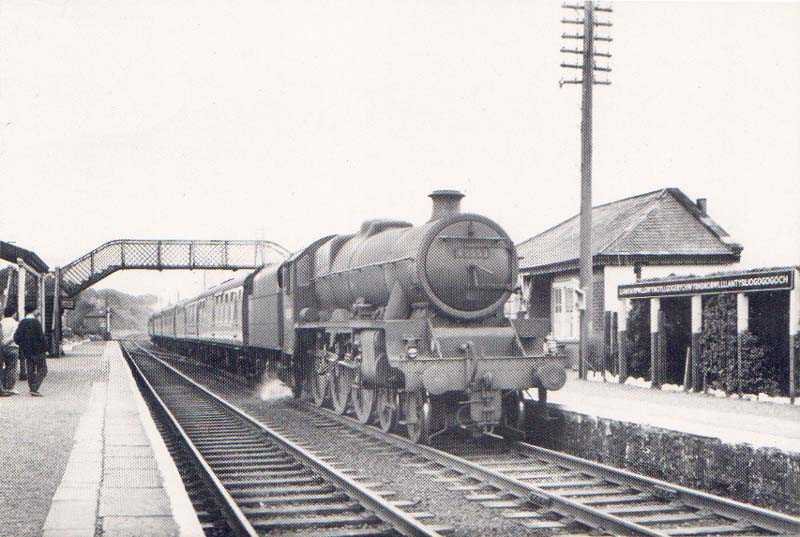 Train from Llanfairpwll to Holyhead in 1962
