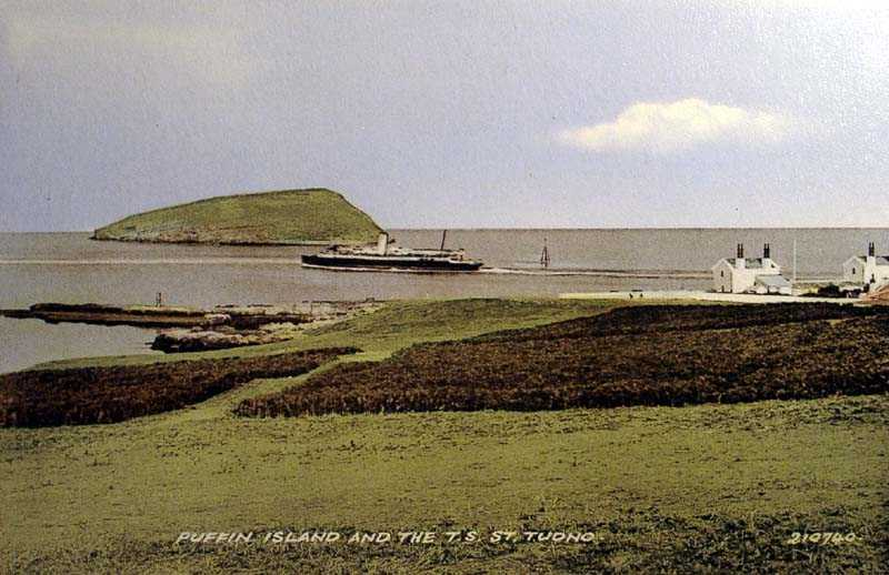 Puffin Island and the St Tudno