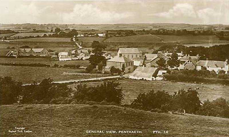 A general view of Pentraeth
