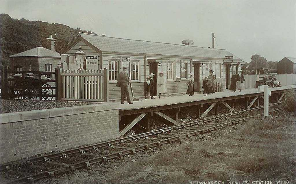 Red Wharf Bay and Benllech Rail Station in the 1900's