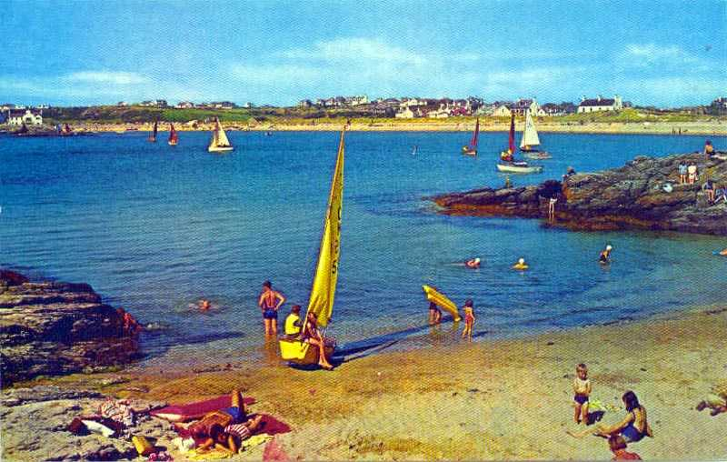 Trearddur Bay in the 1960's