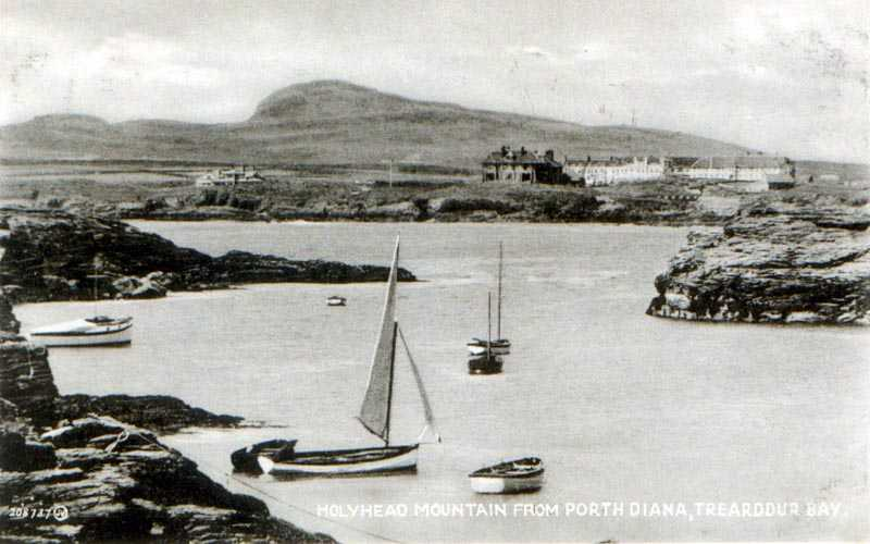 Holyhead Mountain from Porth Diana