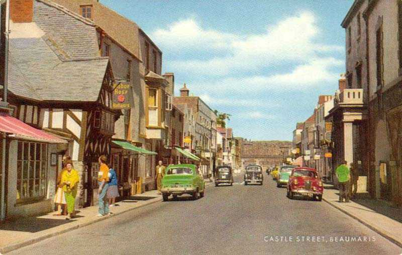 Castle Street in the 1960's