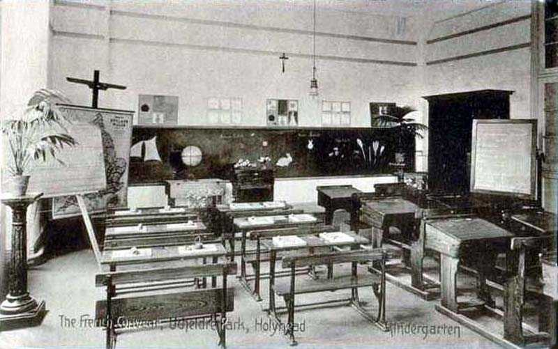 The Kindergarten at Holyhead's Convent in 1910