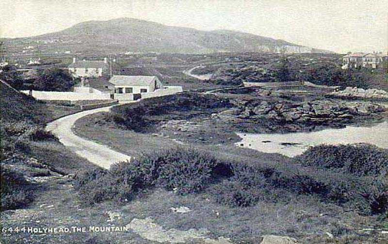 An early image of Holyhead Mountain