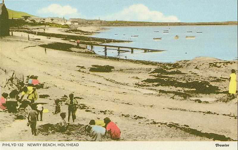 1900's image of Newry Beach